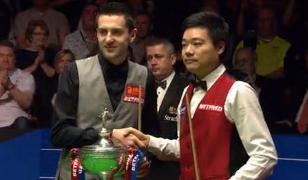 Mark Selby Ding Junhui Paul Collier World Snooker Championship Final 2016