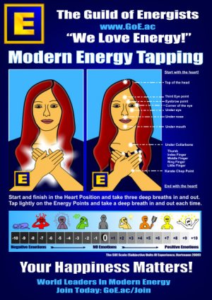 Modern Energy Tapping A4 Sheet