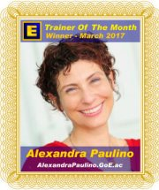 GoE Trainer of the Month - March 2017