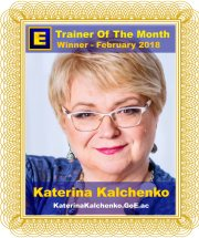 GoE Trainer of the Month - February 2018