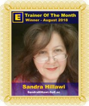 GoE Trainer of the Month - August 2018