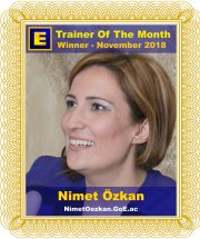GoE Trainer of the Month - November 2018