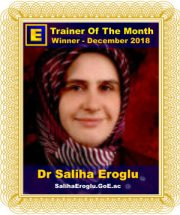 GoE Trainer of the Month - December 2018