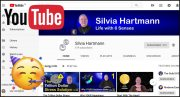 🎉 Silvia Hartmann's YouTube Channel Surpasses 600 Subscribers!
