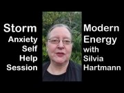 Storm Anxiety Self Help Session with Silvia Hartmann