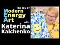 Our Joy Of Modern Energy Art  - Silvia Hartmann in conversation with Katerina Kalchenko