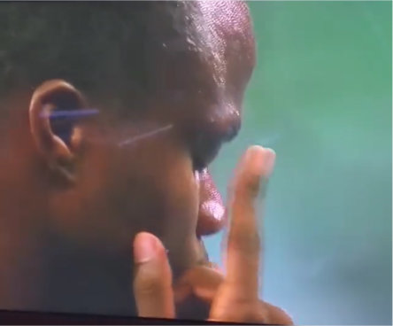 Video - Rio 2016 Olympian Bralon Taplin appears to use EFT tapping