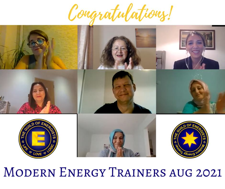 Celebrating our new Modern Energy Trainers !!!!