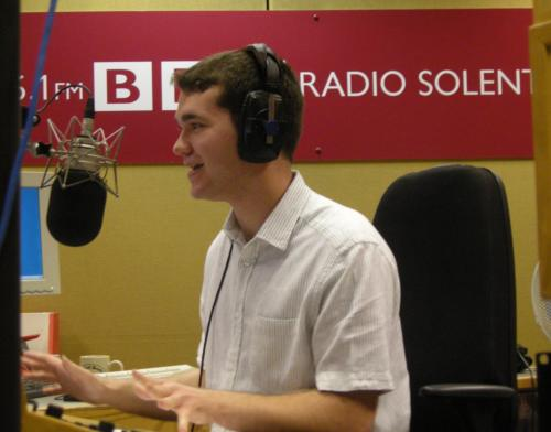 BBC Radio Solent Dj Richard Latter