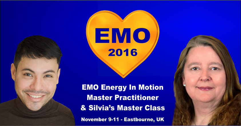 EMO Energy In Motion Master Practitioner & Silvia Hartmann's Master Class - November 9-11 2016