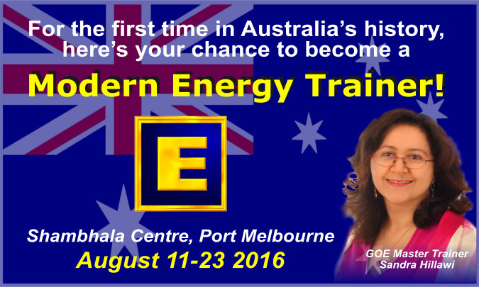 GoE Modern Energy Trainer - Port Melbourne, Australia 2016