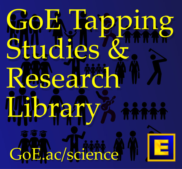 GoE Tapping Studies, Evidence & Research Library
