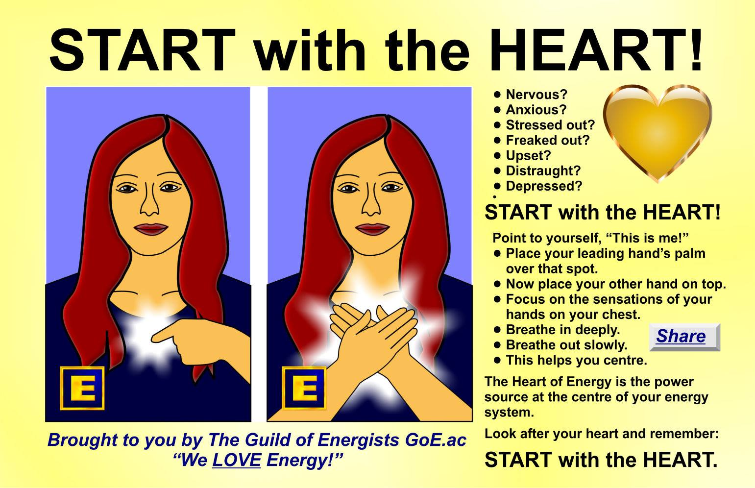Heart Healing Made Simple: Start With The Heart! Heart Healing Diagram