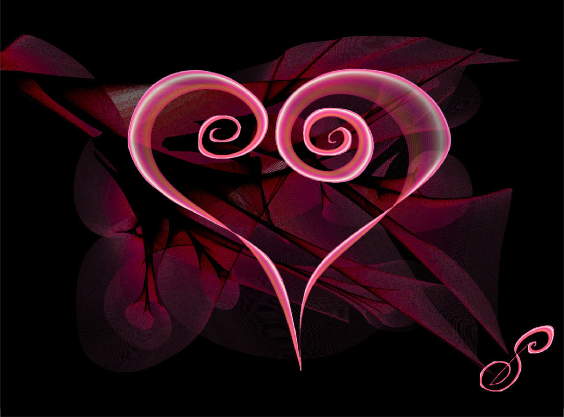 Magic HeART Symbol by Silvia Hartmann