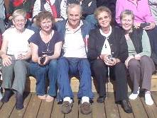 """Gary Craig with some of his """"ladies"""" :-)"""