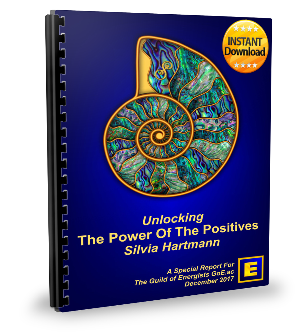 The Power of The Positives: Unlocking The Extraordinary Power Of Positive Energy In Modern Energy Work by Silvia Hartmann