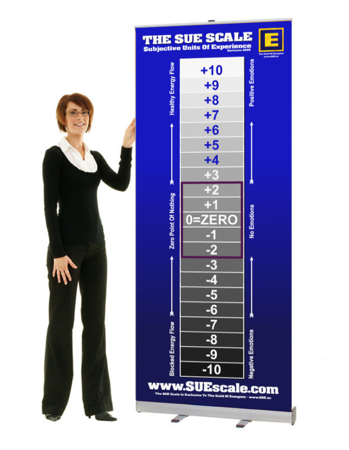 SUE Scale Pop-Up Banner - £69.99