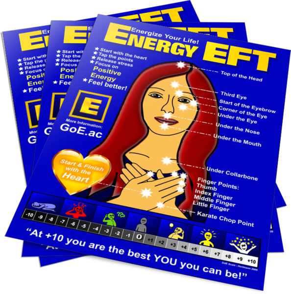 Energy EFT Heart & Soul Fridge Magnet 2016