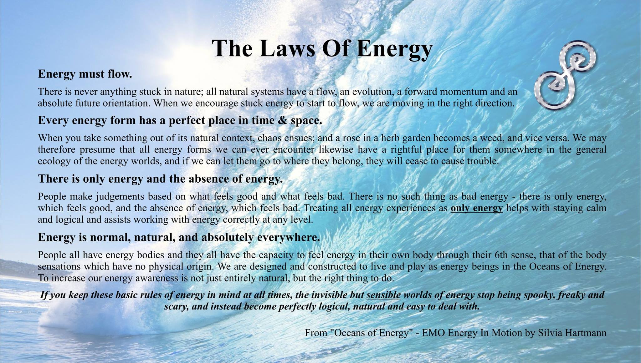 EMO: The Laws Of Energy