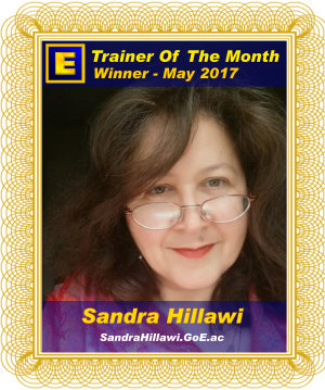 GoE Trainer of the Month - May 2017