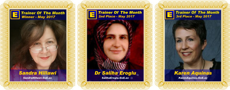Trainer of the Month - May 2017