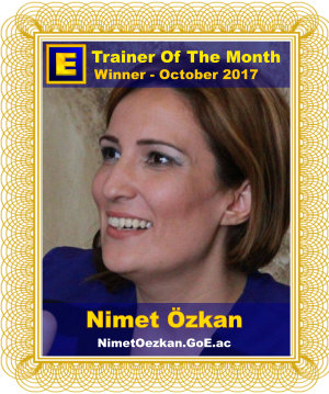 GoE Trainer of the Month - October 2017
