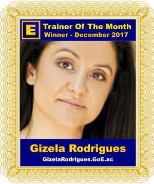 GoE Trainer of the Month - December 2017