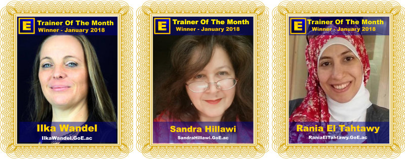 GoE Trainer of the Month - January 2018