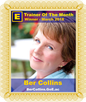 GoE Trainer of the Month - March 2018