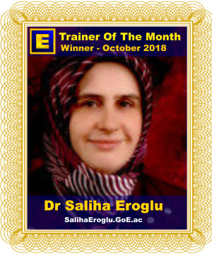 GoE Trainer of the Month - October 2018