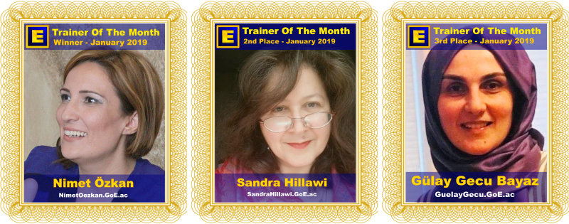 GoE Trainer of the Month - January 2019