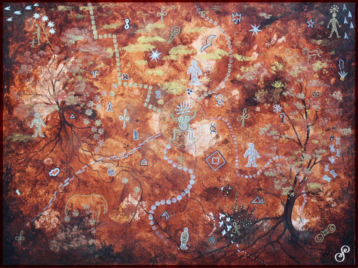 Cave Painting by Silvia Hartmann Complete