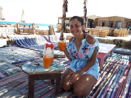 Juice detox healing retreat egypt