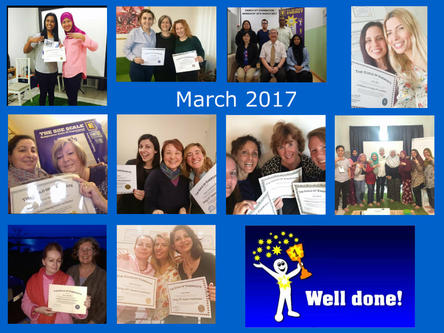 Welcome New GoE Members - March 2017