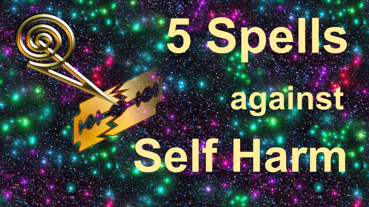 5 x Spell Against Self Harm