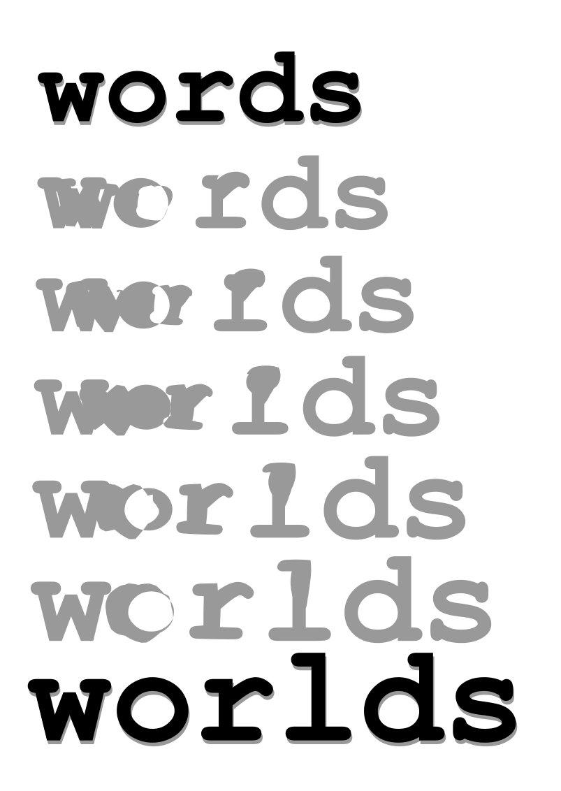 Words to Worlds illustration by Silvia Hartmann