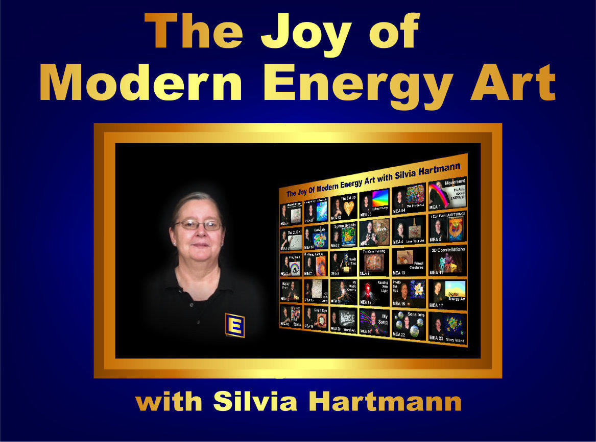 The Joy of Modern Energy Art with Silvia Hartmann online art course