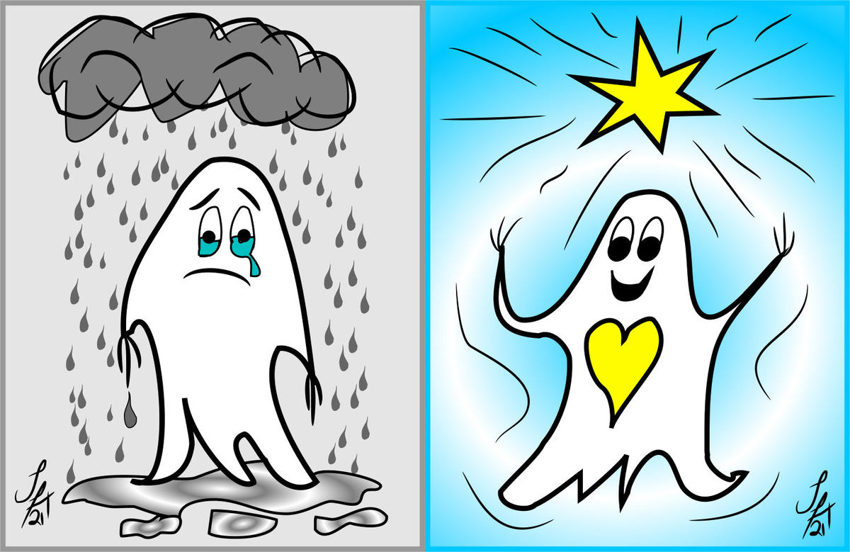 Poor Me to Star Me (featuring the Deluded Ghosties!)
