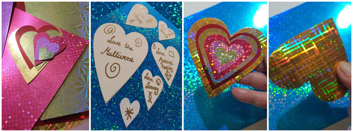 How to make a layer cake love charm