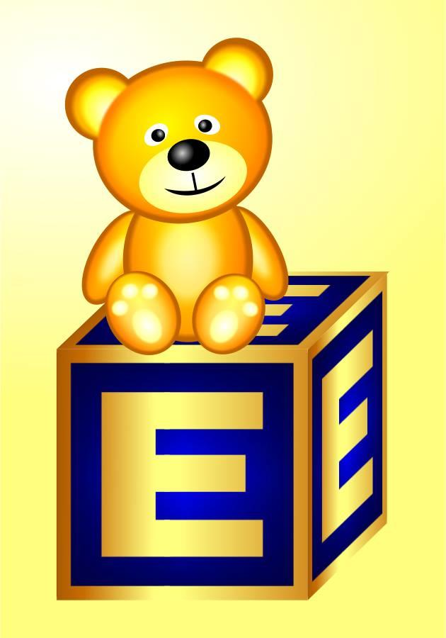 The Golden Teddy sits on the GoE box!