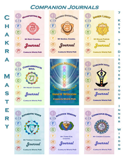 Companion Journals to Chakra Mastery