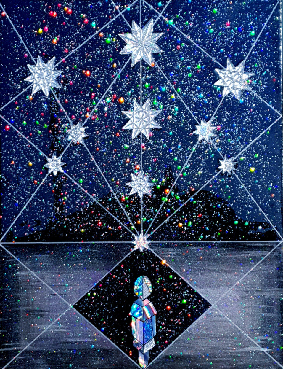 """Modern Energy Art MEA """"The Blessed Child"""" by Silvia Hartmann"""