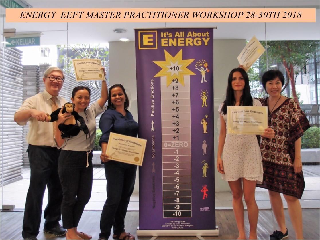 Energy EFT Master Practitioner with Isaac Lim
