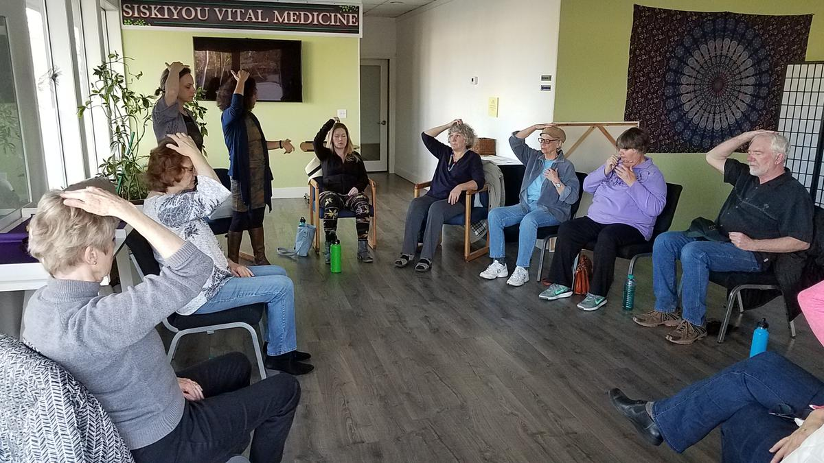 Modern Energy Tapping Circle with Maria LiPuma