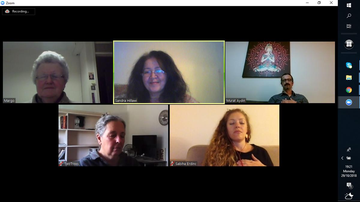 The last SuperMind Masters Group on Zoom