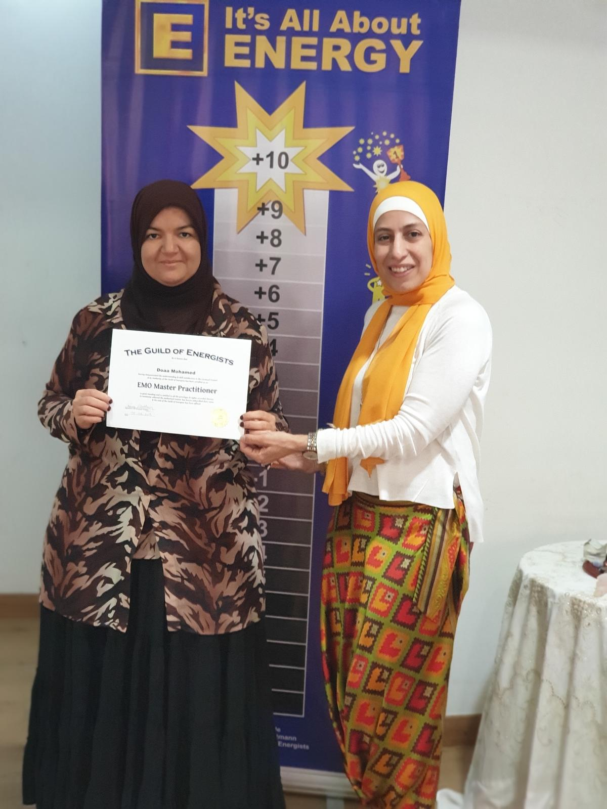 EMO Master Practitioner with Rania El Tahtawy